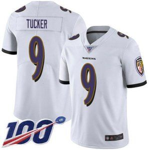 Ravens Justin Tucker 100th Season Jersey